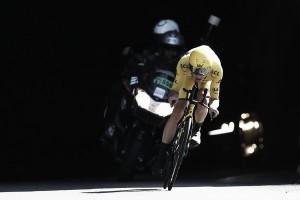 """Chris Froome: """"Estoy contento con el resultado de la etapa pero hoy eso es lo de menos"""""""