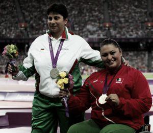 Ángeles Ortiz contenta con el triunfo en Dubái