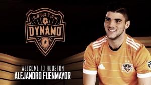 Alejandro Fuenmayor es nuevo jugador del Houston Dynamo