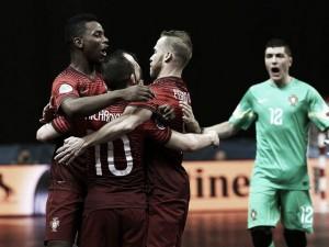 Europeu de Futsal: Harry Potter Ricardinho lança 3 feitiços à Eslovénia