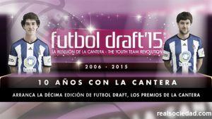 Iker Hernández y Aritz Elustondo, en la lista de Fútbol Draft de 2015