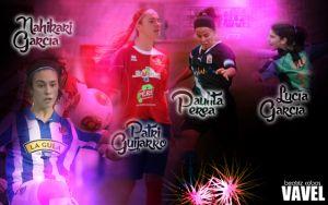 Las cuatro perlas de la Primera División Femenina 2013/2014