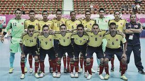 Concentrada Selección Colombia de Futsal