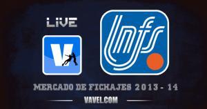 Mercado de fichajes de fútbol sala de la Primera División de la LNFS 2013-2014