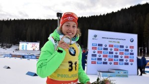 Biathlon, Sprint femminile: a Pokljuka si impone la Dahlmeier