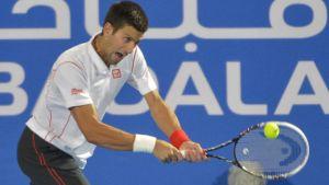 Djokovic conquista Abu Dabi por tercera vez consecutiva