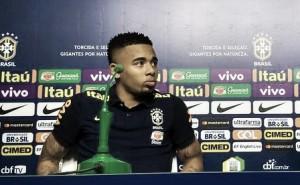 """Do Palmeiras à Seleção, Gabriel Jesus comemora retorno ao Allianz Parque: """"Felicidade imensa"""""""