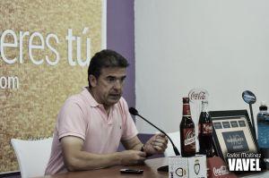 """Gonzalo Arconada: """" Estoy muy contento con la entrega de todo el equipo"""""""