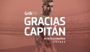 El Atlético se queda sin su capitán
