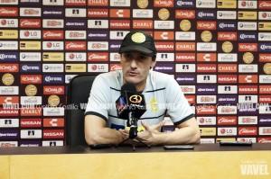 """Gabriel Caballero: """"Lo importante es no dejar ir puntos en casa"""""""