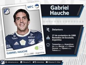 """Gabriel Hauche: """"Millonarios es un club muy grande que quiere conseguir muchos títulos"""""""
