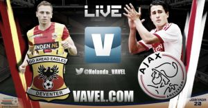Go Ahead Eagles vs Ajax en vivo y en directo online