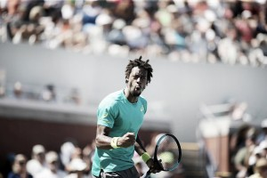 US Open: Gael Monfils wins the all-French match in straights to progress