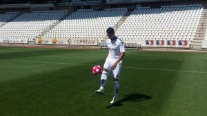 El Albacete Balompié presenta a Gaffoor