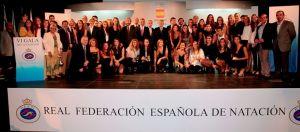Las estrellas de la natación española brillan en la gala anual de la federación