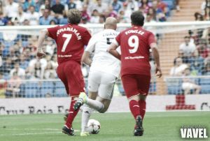 Fotos e imágenes del Real Madrid Legends - Liverpool Legends, del Corazón Classic Match 2015