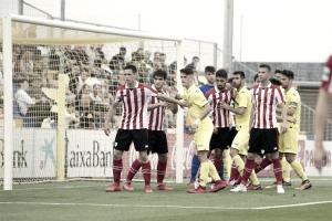 Puntuaciones Villarreal B 0-2 Bilbao Athletic: Unai Simón mantuvo vivos a los katxorros