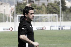 """David Gallego: """"Estoy orgulloso y contento de mis jugadores"""""""