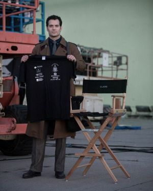 'Batman vs Superman: Dawn of Justice': primera imagen de Henry Cavill como Clark Kent