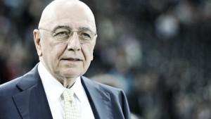 """Galliani: """"La discriminante per la permanenza di Brocchi è il gioco. Dispiace per la reazione dei tifosi"""""""