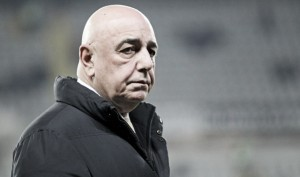"""Galliani: """"La società ha piena fiducia in Mihajlovic, peccato per i punti persi con le piccole"""""""