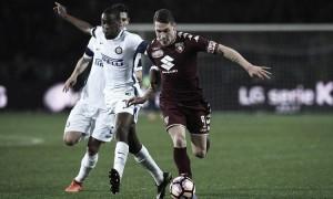 Serie A: Inter frenata dal Torino, 2-2 in una partita dalle mille emozioni