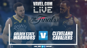 Resumen Golden State Warriors vs Cleveland Cavaliers en Finales NBA 2018 (122-114)