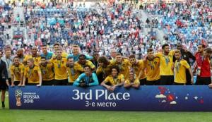 Meunier y Hazard hacen historia para Bélgica
