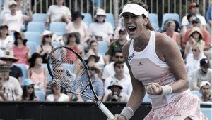 Garbiñe se impone a Carla en una oda al tenis femenino español