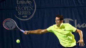 García-López en cuartos de final de Winstom Salem