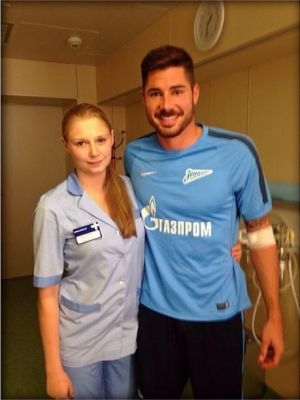 Javi García joins Zenit St Petersburg