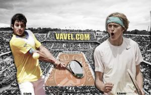 Garín - Zverev: por la supremacía del tenis mundial juvenil