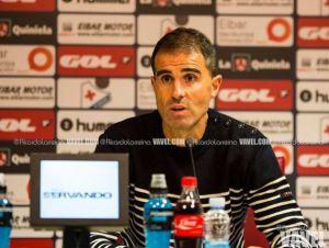 """Garitano: """"Este es el Eibar que quiero ver"""""""