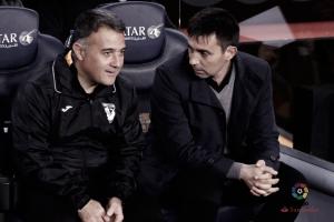 """Asier Garitano: """"Nos vamos tristes por cómo y cuándo se ha producido el 2-1"""""""