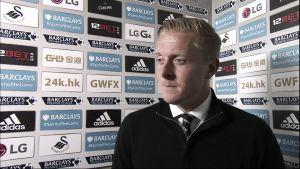 """Garry Monk: """"Estoy satisfecho con la victoria. Todos colaboraron y volvieron a hacer un buen partido, como frente al Chelsea"""""""