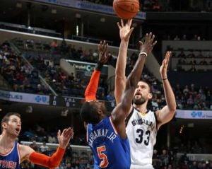 Tutto secondo pronostico, i Grizzlies distruggono i Knicks