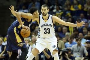 NBA: Gasol mostruoso, Pelicans sconfitti dai Grizzlies