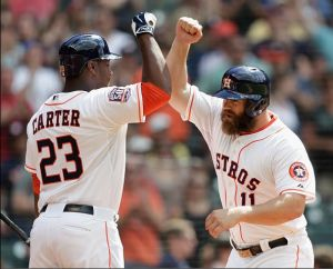 Evan Gattis Powers Houston Astros To 10th Straight Win, 7-6 Over Seattle Mariners