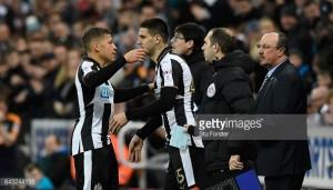 Newcastle boss Rafael Benitez unsure about Dwight Gayle's injury following Villa win