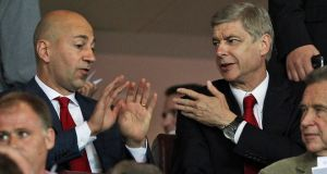 Ivan Gazidis, Arsenal and Arsene Wenger