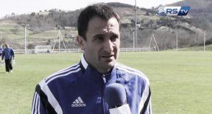 """Unai Gazpio: """"Al margen del resultado, hoy no me ha gustado nuestro juego"""""""