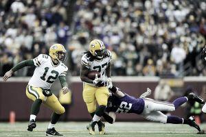 Packers demostró ante Vikings que por tierra también gana