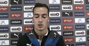 """Lucas Vázquez: """"No encontramos la manera de tener el balón"""""""