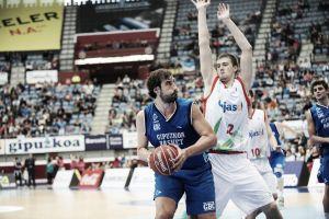 David Doblas guía al Gipuzkoa Basket ante el Cajasol