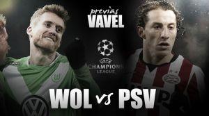 PSV Eindhoven vs Wolfsburgo: una victora, una oportunidad