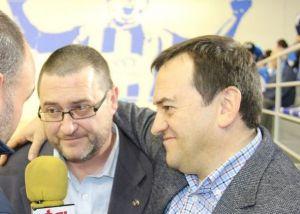 Impresiones de Juan Francisco Gea y Pato en el post-partido