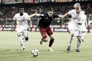 Serie A - Il Genoa ci prova ma sbaglia troppo: Bologna corsaro al Ferraris con Palacio (0-1)