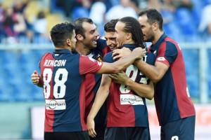 Genoa buona la prima, al Cagliari non basta Borriello