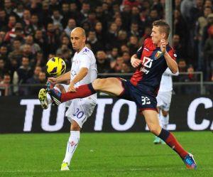 La Fiorentina golea en Génova a ritmo de Rossi