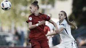 UEFA Women's under-17 Championship - England 3-4 Germany: Seven-goal thriller sees Germans set up Spain showpiece